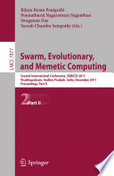 Swarm Evolutionary And Memetic Computing Part Ii