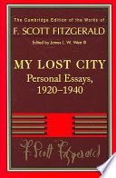 Fitzgerald  My Lost City