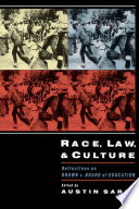 Race  Law  and Culture