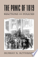 The Panic of 1819  Reactions and Policies