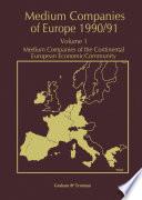 Medium Companies of Europe 1990 91