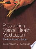 Prescribing Mental Health Medication