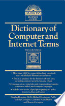 DICTIONARY OF COMPUTER AND INTERNET TERMS  11th ed