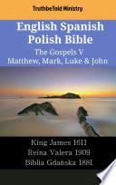 English Spanish Polish Bible The Gospels V Matthew Mark Luke John