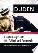Duden Trainer   Einstellungstests f  r Polizei und Feuerwehr