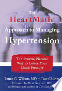 The Heartmath Approach To Managing Hypertension