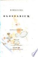 Homerisches Glossarium von Ludwig Doederlein