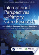 International Perspectives On Primary Care Research