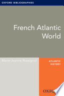 French Atlantic World: Oxford Bibliographies Online Research Guide