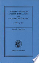 Eighteenth Century English Literature And Its Cultural Background