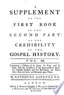 The Credibility Of The Gospel History
