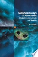 illustration Dynamiques complexes et morphogenèse