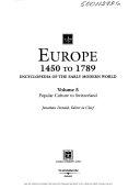 Europe 1450 to 1789: Popular culture to Switzerland