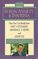 Stress Anxiety And Insomnia book