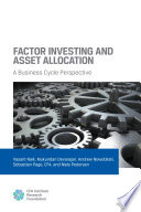 Factor Investing and Asset Allocation  A Business Cycle Perspective