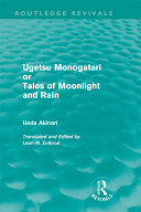 Book Ugetsu Monogatari Or Tales of Moonlight and Rain