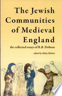 The Jewish Communities of Medieval England