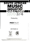 South African Music Industry Directory