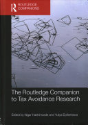 The Routledge Companion to Tax Avoidance Research