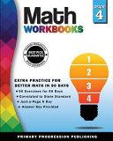 Math Workbook Grade 4