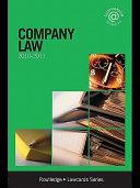 Company Lawcards 2010 2011
