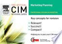 CIM revision cards Marketing Planning 05 06