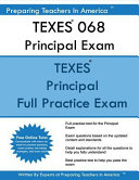 Texes 068 Principal Exam