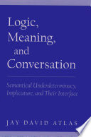 Logic  Meaning  and Conversation