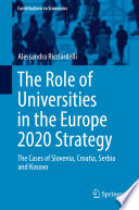 The Role Of Universities In The Europe 2020 Strategy