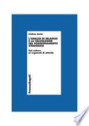 L analisi di bilancio e la valutazione del posizionamento strategico  Dal settore ai segmenti di attivit
