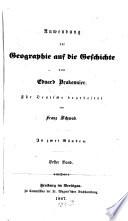 Anwendung der Geographie auf die Geschichte