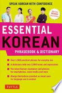 Essential Korean Phrasebook Dictionary