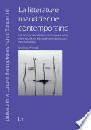 La litt  rature mauricienne contemporaine