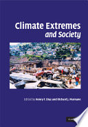 Climate Extremes And Society : rapidly warming world. ordinary citizens, the insurance industry...