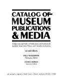 Catalog of Museum Publications   Media Book PDF
