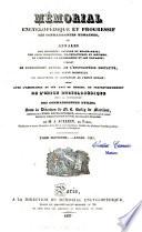 Memorial revue encyclopédique des connaissances humaines
