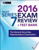 Wiley Series 7 Exam Review 2016   Test Bank