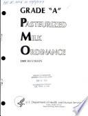 Grade A Pasteurized Milk Ordinance