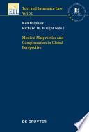 Medical Malpractice And Compensation In Global Perspective