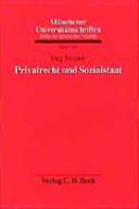 Privatrecht und Sozialstaat
