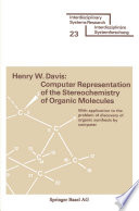 Computer Representation of the Stereochemistry of Organic Molecules Book PDF