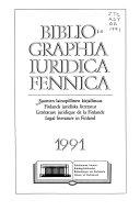 Bibliographia Iuridica Fennica