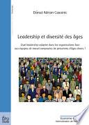 Leadership et diversité des âges