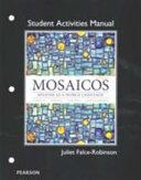Mosaicos Student Activities Manual