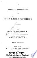 Practical Introduction to Latin Prose Composition
