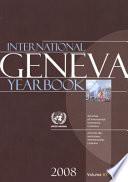 International Geneva Yearbook 2008 book