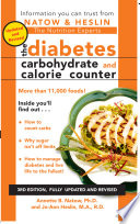 The Diabetes Carbohydrate   Calorie Counter
