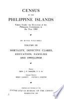 Census of the Philippine Islands