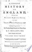 A Complete History Of England From The Descent Of Julius Caesar To The Treaty Of Aix La Chapelle 1748