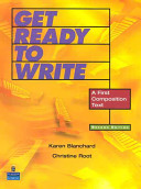 Get Ready to Write Second Edition Of Get Ready